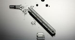 Als een kwikthermometer breekt, ruimt u de kwik best zo snel mogelijk op.