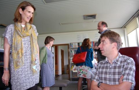 Sophie Wilmès bezoekt het Antigifcentrum