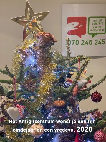 Beste wensen van het Antigifcentrum