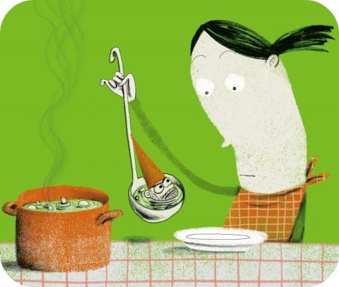 Eet geen wilde paddenstoelen of planten die je niet kent.