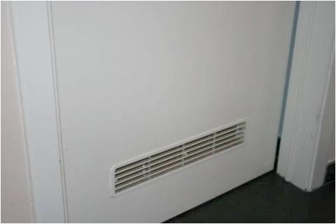 Ventilatie badkamerdeur ventilatierooster badkamerdeur