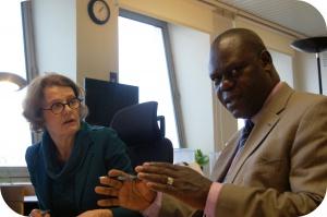 Belgisch Antigifcentrum ontvangt professor Manyele uit Tanzania.