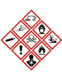 Er zijn nieuwe etiketten en nieuwe pictogrammen voor chemische producten, inclusief huishoudproducten.
