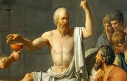 De dood van Socrates (door David)