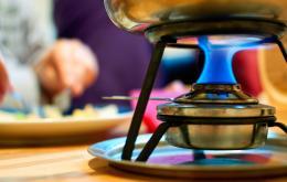 Kies voor uw fonduestel eerder een brandpasta.