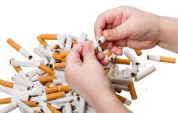Eén sigaret bevat voldoende nicotine om bij een klein kind een ernstige vergiftiging te veroorzaken.