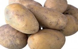 Bewaar aardappelen op een donkere, koele en droge plaats.